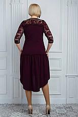 Праздничное платье украшенное бусинами, фото 3
