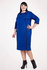 Замшевое платье с рельефами, фото 2