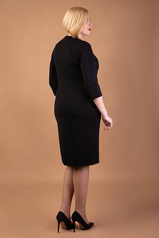 Черное нарядное платье, фото 2