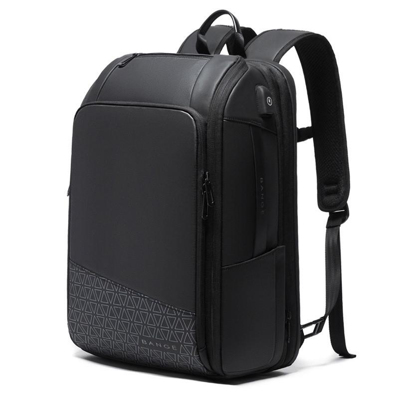 Большой дорожный рюкзак Bange BG22005, с USB портом, расширителем и тремя отделениями, до 54л