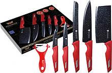 Набор ножей с мраморным покрытием 6 предметов Zillinger ZL-865