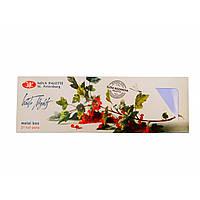 Набор акварельных красок Белые ночи, 21 цвет металлическая коробка, 2.5 мл. кюветы, палитра Елены Базановой