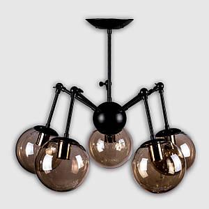 Люстра в стиле лофт на 5 лампочек P5-N3452/5/