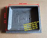 Чавунні дверцята комплект грубу, печі, барбекю, мангал чавунне литво, фото 2