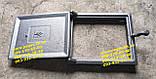 Чавунні дверцята комплект грубу, печі, барбекю, мангал чавунне литво, фото 5