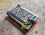 Чавунні дверцята комплект грубу, печі, барбекю, мангал чавунне литво, фото 6