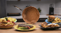 Стальная воздушная сковорода STEEL AIR FRY PAN