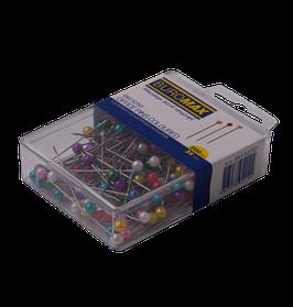 Шпильки кольорові, 34 мм, 200 шт., пласт. контейнер 7319 40 00 00