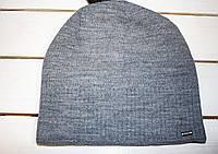 Зимова шапка рубчик на хлопчика р -48-50-52
