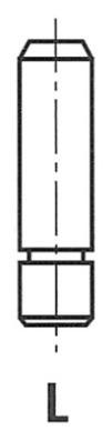 Направляющая клапана  HYUNDAICOUPE, ELANTRA, SONATA II FRECCIA G3585