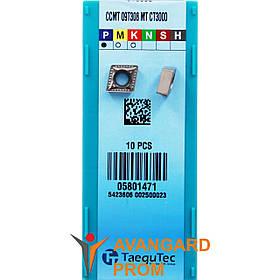 Пластина TaeguTec CT3000 CCMT09T308-MT