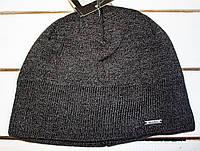 Зимова шапка рубчик на хлопчика р -48-50-52--56