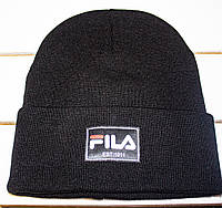 Зимова шапка рубчик на хлопчика р 50-52--56