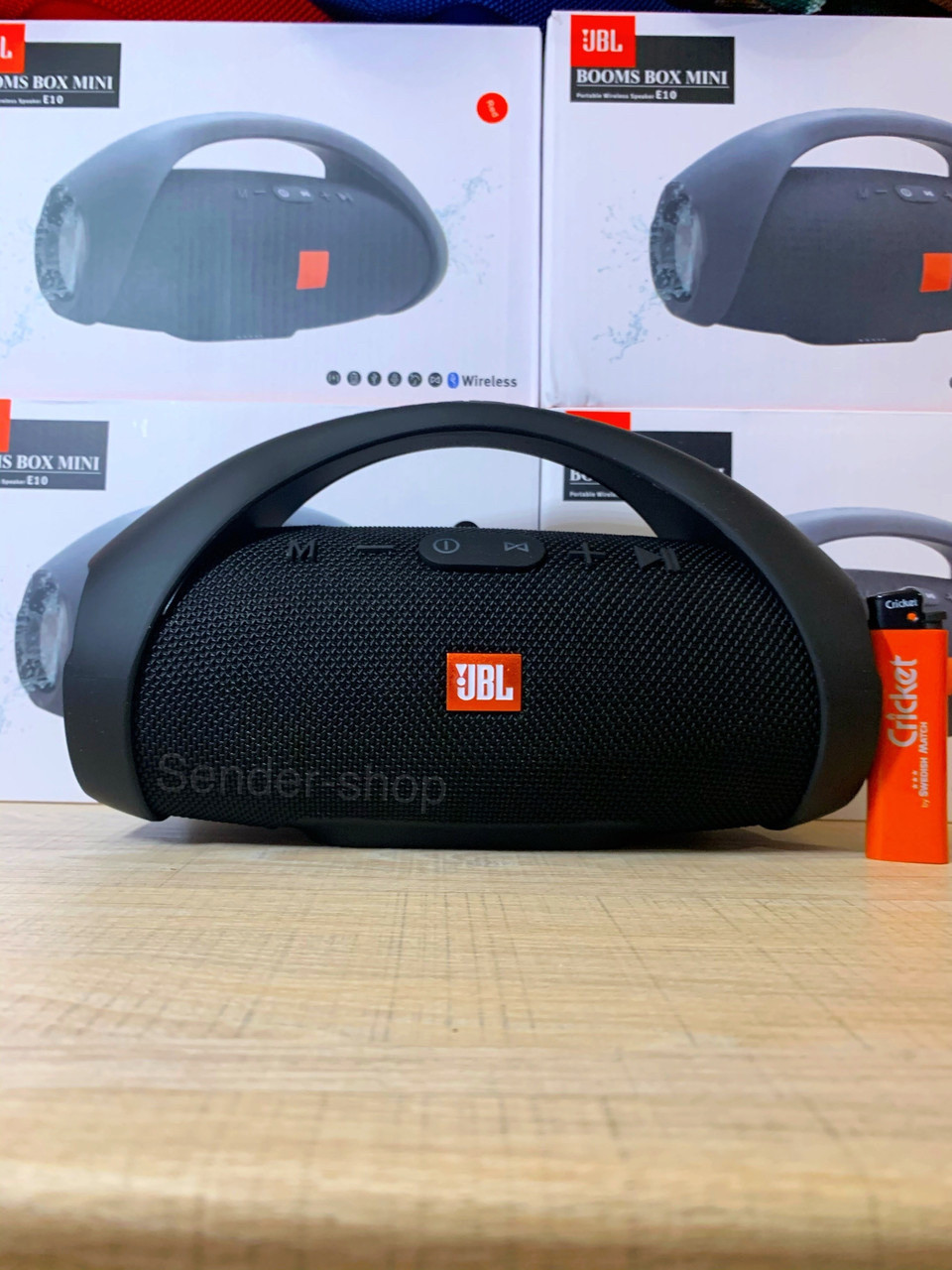 Бумбокс JBL BOOMBOX mini Bluetooth , USB , microSD , AUX , FM