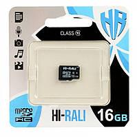 Карта памяти HI-RALI 16GB class 10 (без адаптера)