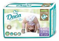 Памперсы подгузники Dada Extra Soft 4 Maxi (7-18 кг), 46 шт