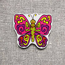 Бабочка. Фигурка для магнитной доски