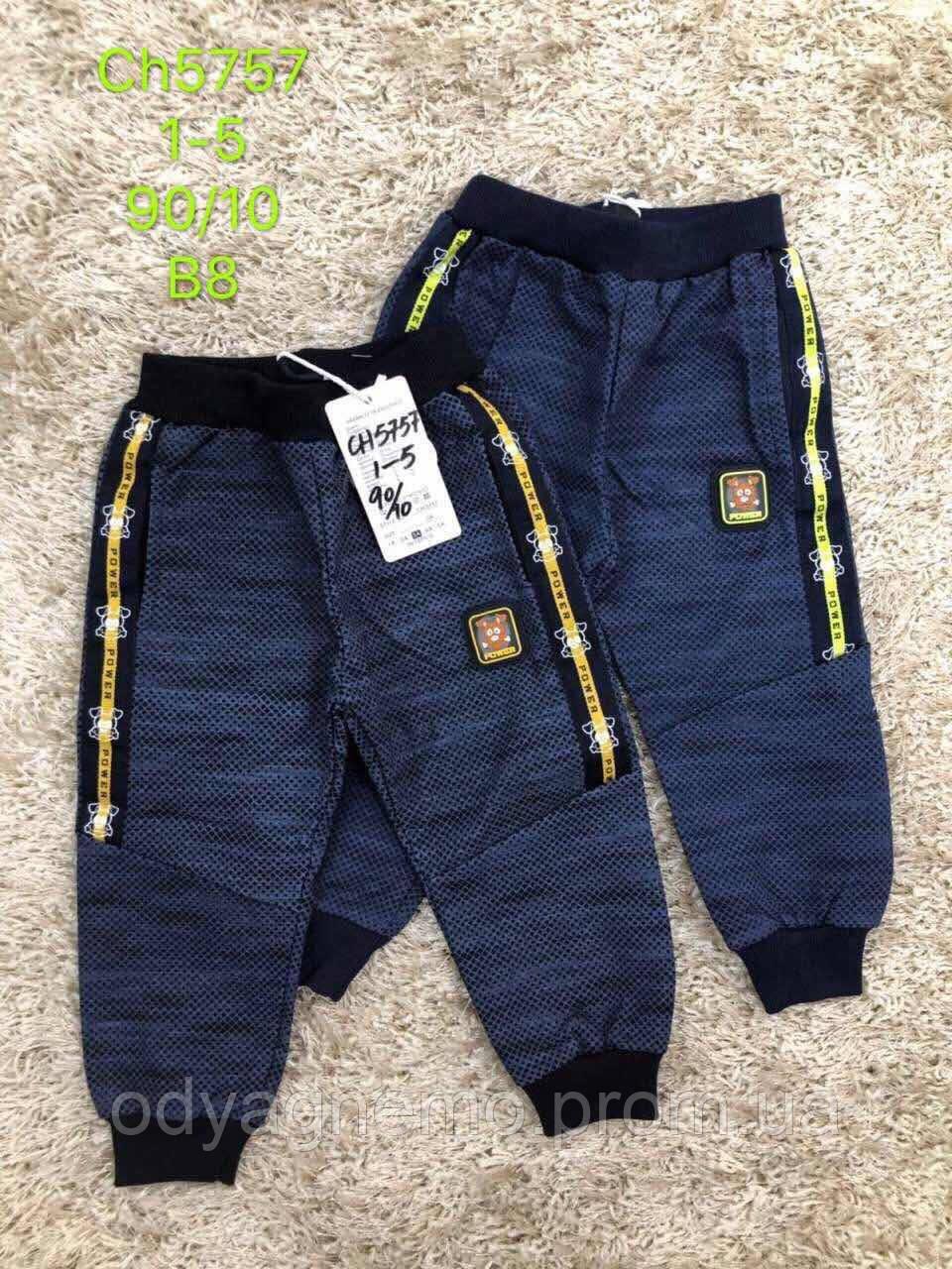 Спортивные брюки для мальчиков S&D оптом, 1-5 лет. Артикул: CH5757