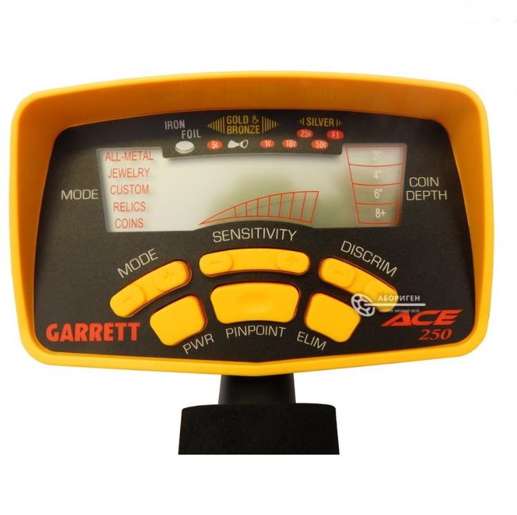 Блок управления для металлоискателя Garrett Ace 250, ОРИГИНАЛ