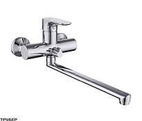 Смеситель для ванны Damixa Origin Top 839000000 излив 35 см