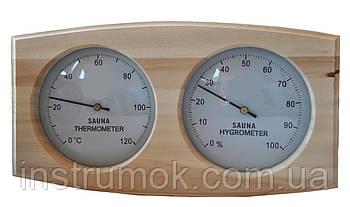 Термометр гигрометр для сауны и бани ТГС-К