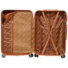 Чемодан дорожный на колесах Bonro Next, набор 3 штуки, комплект чемоданов Красный, фото 6