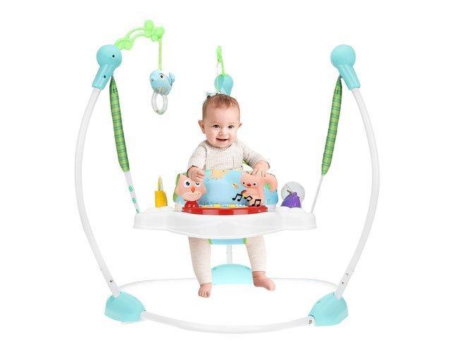 Дитячі розвиваючі ходунки-стрибуни,  детские Ходунки-прыгунки музыкальные