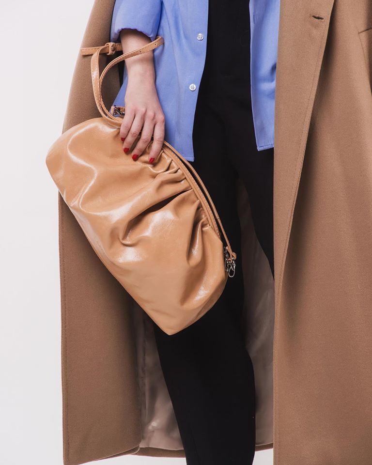 Жіноча шкіряна сумка SHELL
