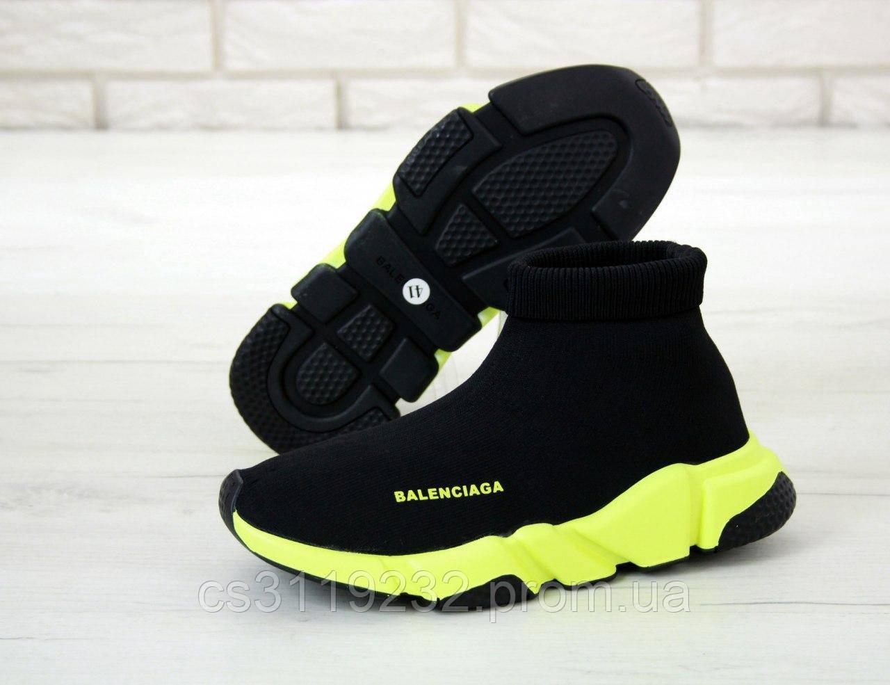 Чоловічі кросівки Balenciaga Speed (чорні)
