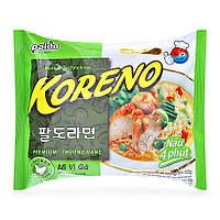 Корейская Лапша Koreno Paldo со вкусом Курицы (100 гр) (Корея), фото 1
