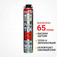 Монтажная пена PenoTEK 65 (Пенотек) Профессиональная. Выход пены ДО 65Л (Турция)
