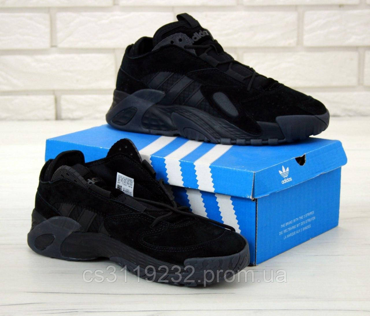 Чоловічі кросівки Adidas Streetball (чорні)