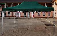 Шатер раздвижной, палатка, беседка, павильон, тент, 3х4.5(3*4.5), 29 кг, тент 800д зеленый