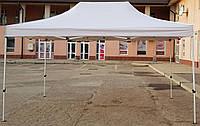 Шатер раздвижной, палатка, беседка, павильон, тент, 3х4.5(3*4.5), 29 кг, тент 800д белый