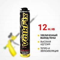 Клей-Пена VolkFix профессиональная для теплоизоляции, увеличенный выход клей-пены - до 12 м.к. (Польша)