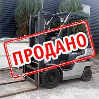Вилочный погрузчик 1,5 тонны Nissan NP1F1A15D б/у 2009, фото 1