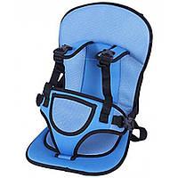 Детское бескаркасное автокресло Multi Function Car Cushion Light blue