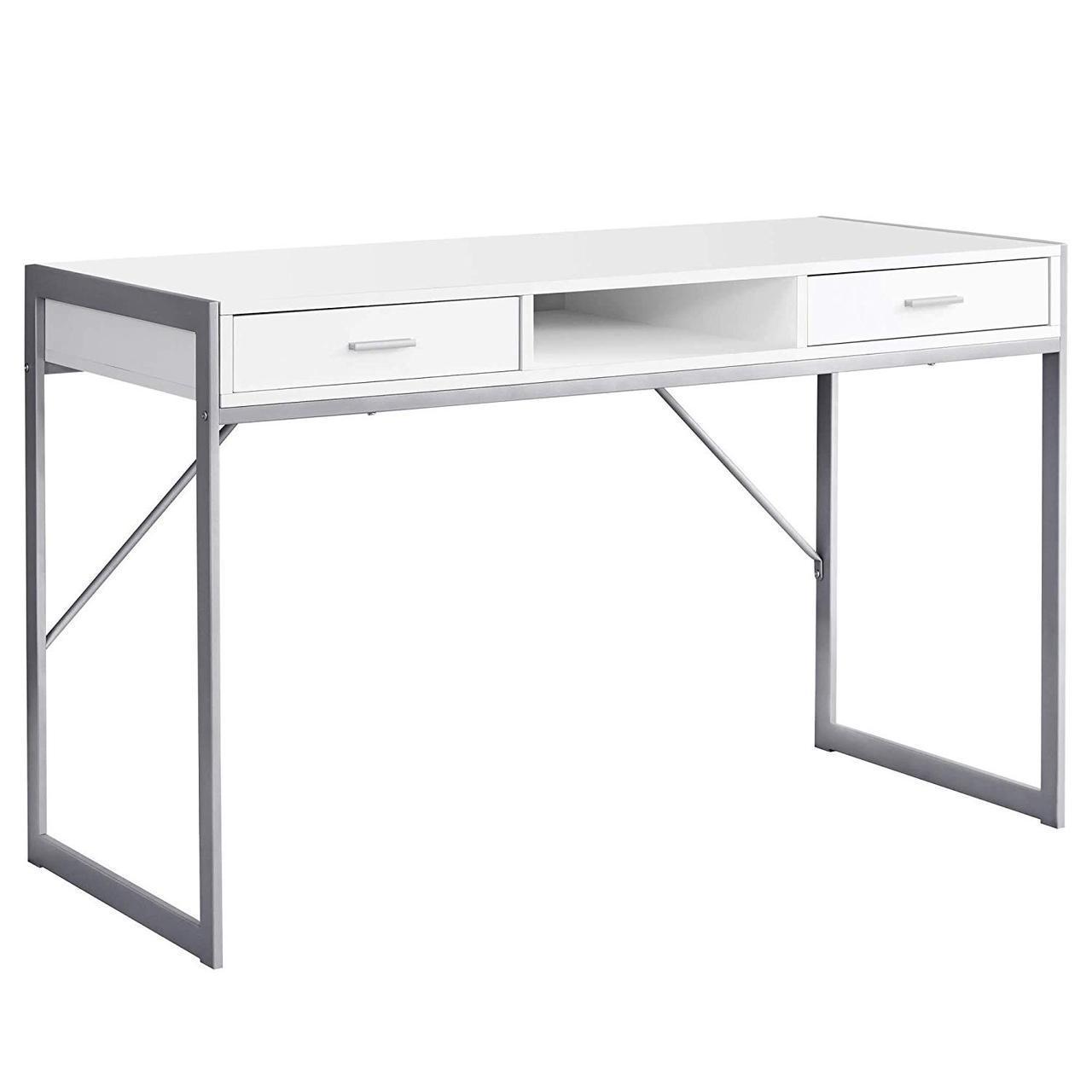 """Письменный стол """"Хилл"""" из массива дерева в стиле loft"""