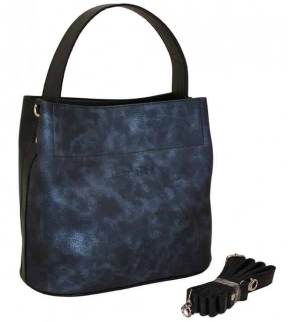 Lucherino 516 Сумка черная-синяя
