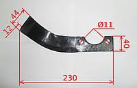 Нож фрезы Кентавр IT230 (Зирка 105, 135, МБ2060-2090)