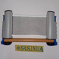 Сітка для настільного тенісу, кріплення кнопка, Т121, фото 1