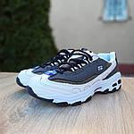 Женские кроссовки Skechers D'Lites (серо-белые), фото 8