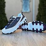 Женские кроссовки Skechers D'Lites (серо-белые), фото 7