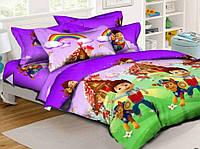 Детское постельное белье комплект подростковый щенячий патруль