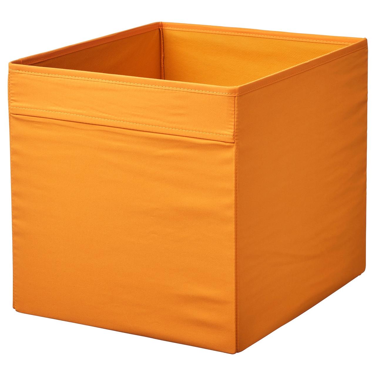 Коробка IKEA DRÖNA 504.439.72 оранжевый