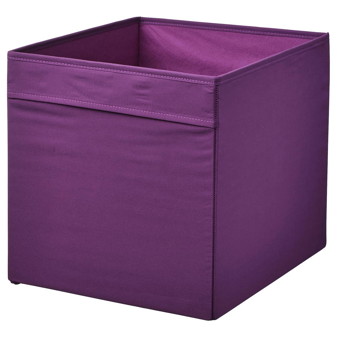 Коробка IKEA DRÖNA 304.439.73 фиолетовый