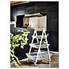 Кошик IKEA RISATORP 25x26x18 см білий 202.816.31, фото 3