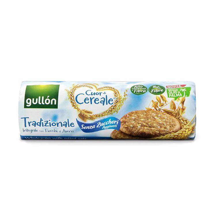 Печиво GULLON tube CDC Традиційне БЕЗ ЦУКРУ, 280г, 16шт/ящ