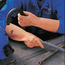 Перчатки защитные MAPA химически стойкие К80Щ50 рельефные ALTO 299 INDUSTRIAL латекс, фото 3
