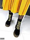 Женские демисезонные ботинки в черном цвете, из натуральной замши 36, 37 ПОСЛЕДНИЕ РАЗМЕРЫ, фото 4